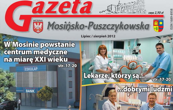 Design of a clinic presented in the newspaper