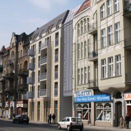 Kamienica przy ul. Głogowskiej w Poznaniu