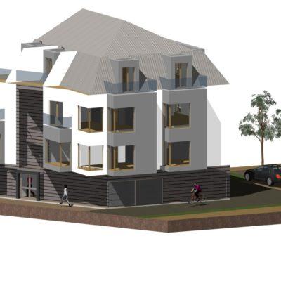 Bydynek wielorodzinny  RS Architecture