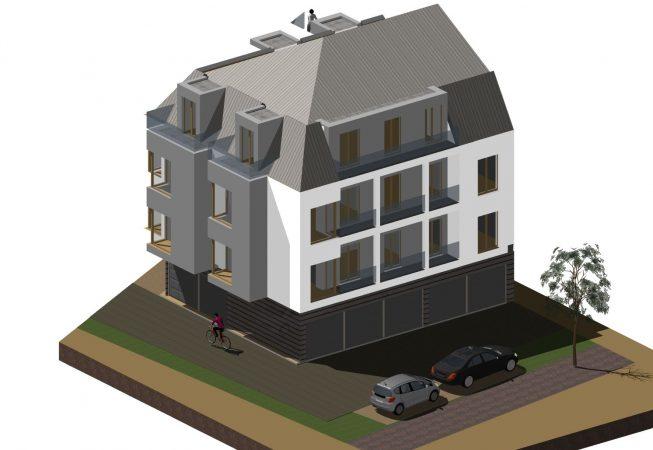 Nowoczesna mieszkaniówka 03 RS Architecture