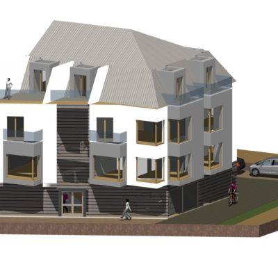 Nowoczesna mieszkaniówka Architekt  Mosina