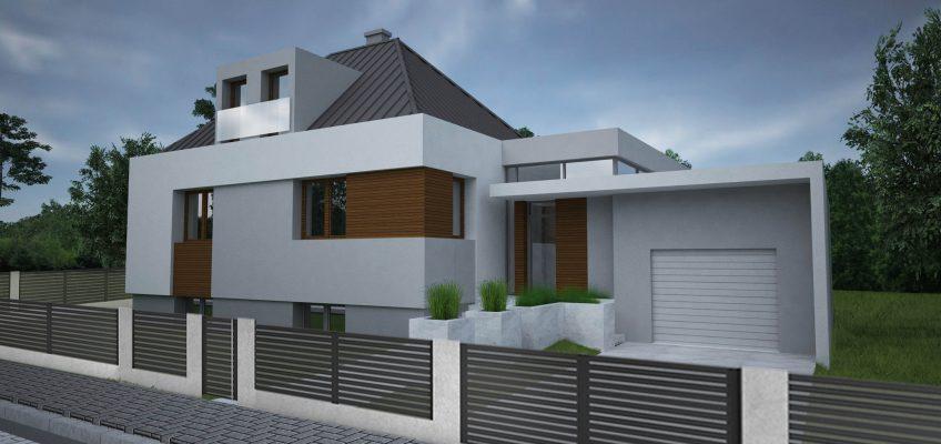 Projekt domu –  Poznań