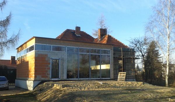 Szklana fasada w wersji mini