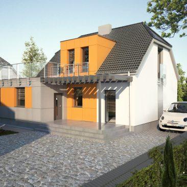 Domek Mosina – przebudowa