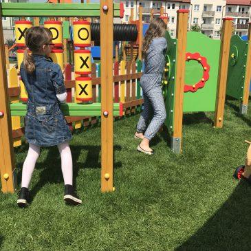 Otwarcie placu zabaw w Krośnie