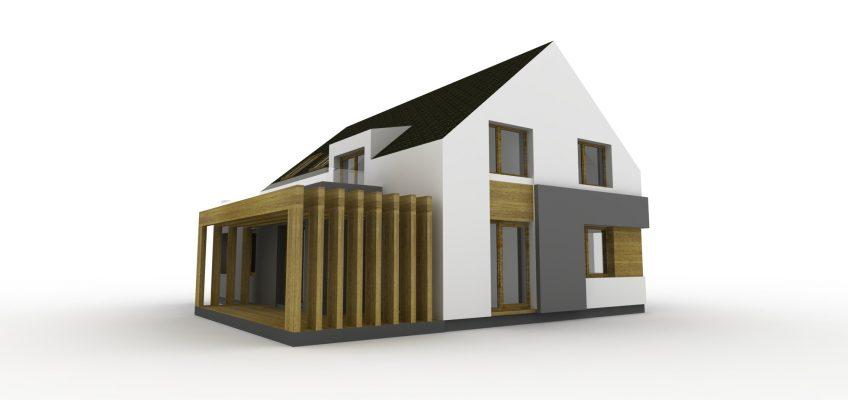 Projekt domu Michałowo