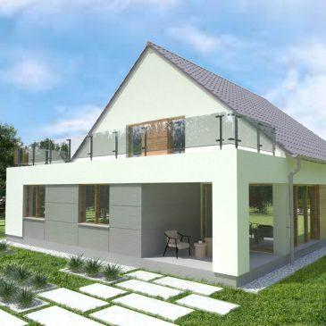 Projekt domu w Mosinie
