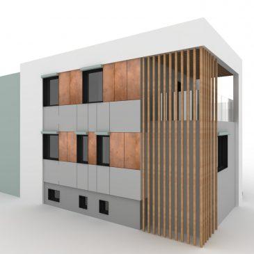 Nowa elewacja starego domu – kostki