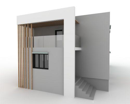 Nowa elewacja starego domu 2