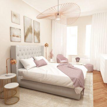 Projekt sypialni w Monachium