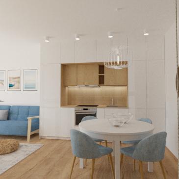 Apartament w stylu skandynawskim